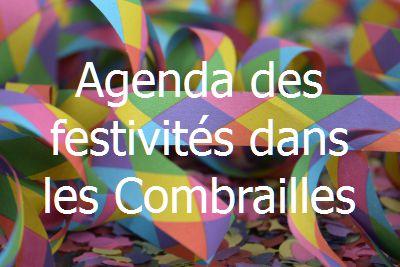 Agenda festivités Combrailles